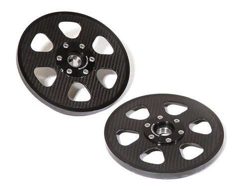 "WHEEL, 8"" REAR, CARBON W/BEARING, PAIR  - YETI SnowMX Online Store"