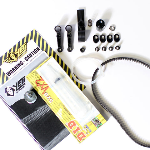 BIKE ADAPTOR KIT PARTS BOX, RRS KAWI 05-CUR KXF 450, LH, RH  - YETI SnowMX Online Store