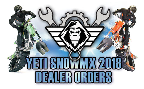 YETI SnowMX 2018 (Dealer-Only Orders)