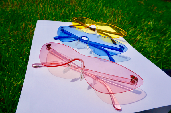 FRAMELESS CATEYE SUNNIES