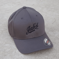 Jak'd Flexfit Hat - Black Embroidery