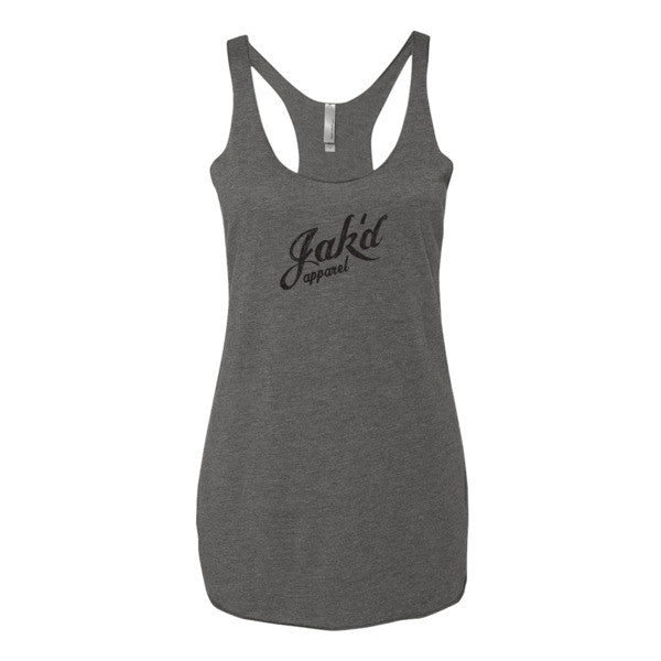 Tri-blend tank top (Black)