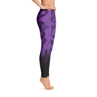 Jak'd apparel Leggings (Dark Purple)