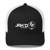 New! Jak'd Apparel Logo Trucker Cap