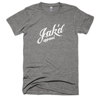 Tri-blend Jak'd (White on dark colors)