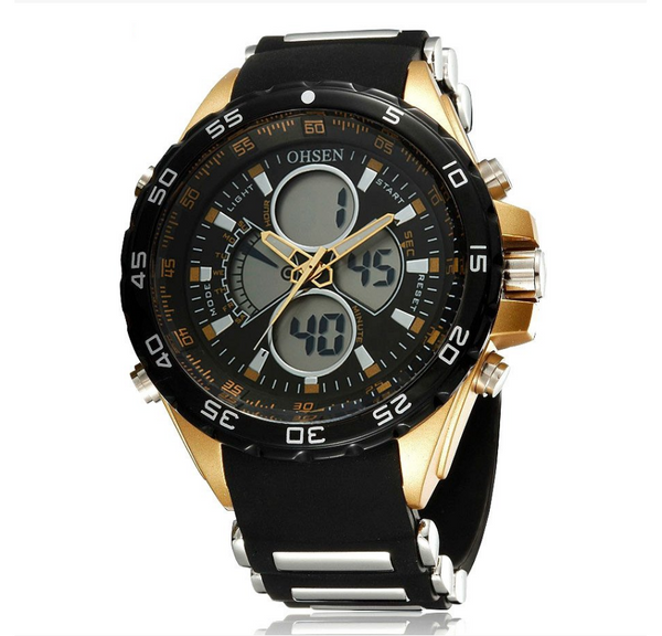 O-26 Men's Sports Digital Analog Watch