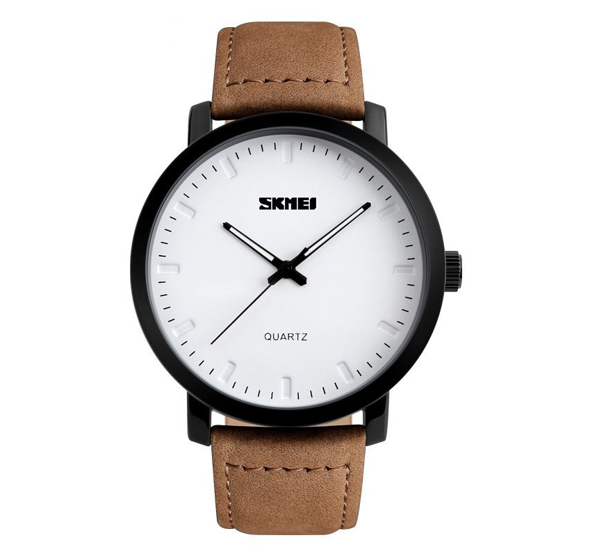 Men's Tan Leather Casual Watch