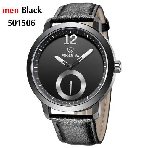 Men's Minimalist Design Waterproof  Business Casual Analog Quartz Watch