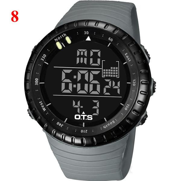 50M Professional Diving Waterproof Quartz Digital Sports Men's Watch