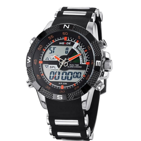 W-111 Men's Waterproof Multifunction Sports Military Watch