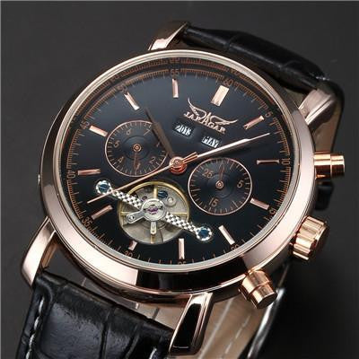 A14 - Automatic Self Wind Mechanism Full Calendar Classic Design Luxury Men's Watch