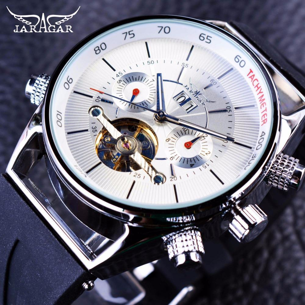 THE SHARK Luxury Men's Automatic Self Wind Watch