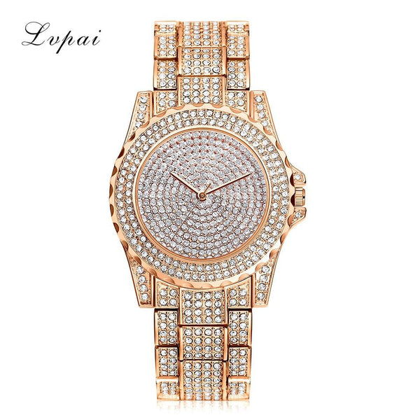 A Million Crystals Women's Analog Watch