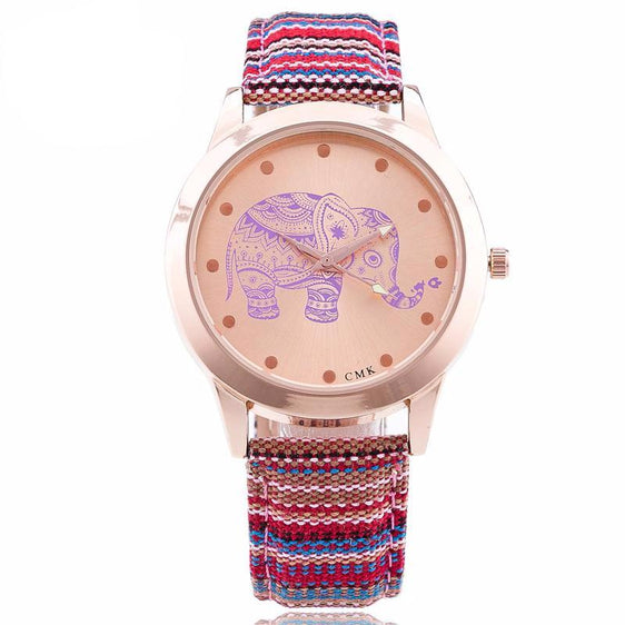 Elephant Quartz Women's Wrist Watch