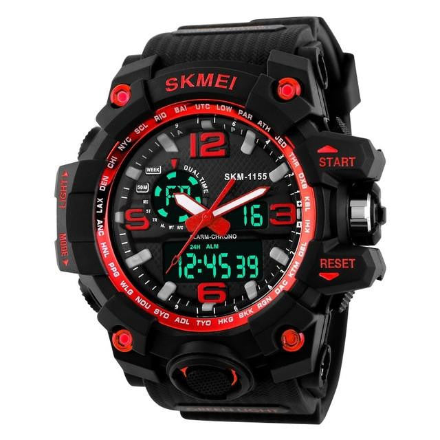 S-1155 Oversized Rugged Digital Sports Watch