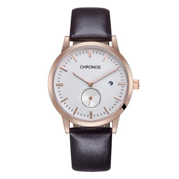 CHRONOS-C22 Analog Business Watch with Seconds Dial