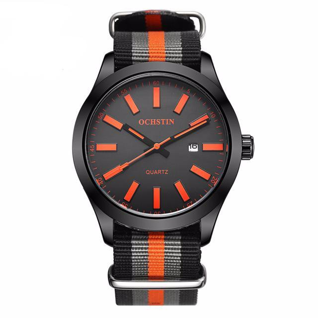Titan Men's Analog Watch with Nylon Strap