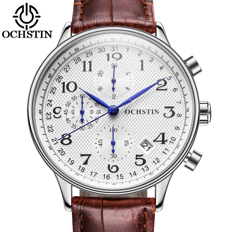 OCHSTIN Luxury Chronograph Men's Casual Quartz Wrist Watch