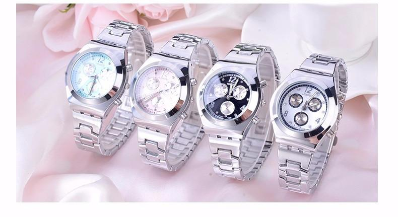 Stainless Steel Women's Luxury Quartz Business Casual Watch