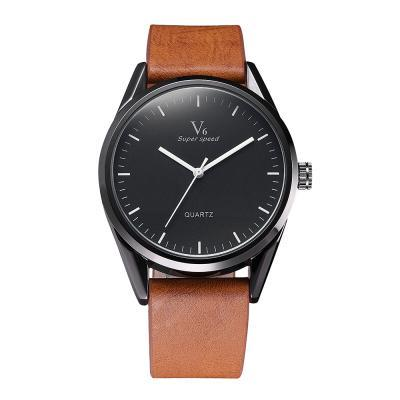 V6 Men's Watch Classic Fashion Mens Watches Top Brand Luxury Watch Men Watch Minimalist Clock erkek kol saati relogio masculino