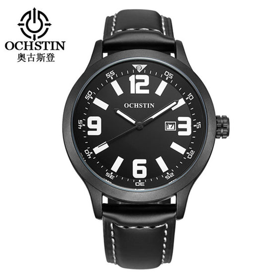 Big Dial Men's Luxury Quartz Minimalist Watch