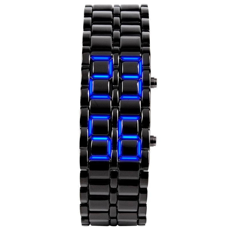 Faceless LED Digital Watch