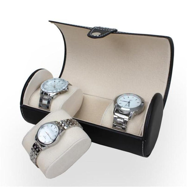 3 Watch Travel Storage Case