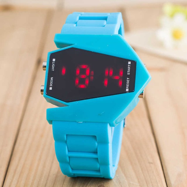 B-2 Stealth Bomber Sports LED Watch