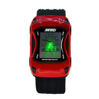 Silicone Jelly Digital Water Resistant Kids Watch