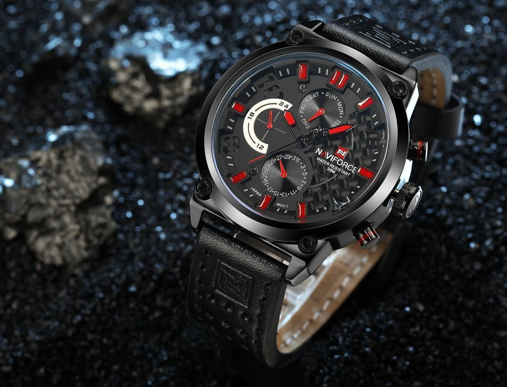 N 121 Men's Military Quartz Analog Sport's Watch
