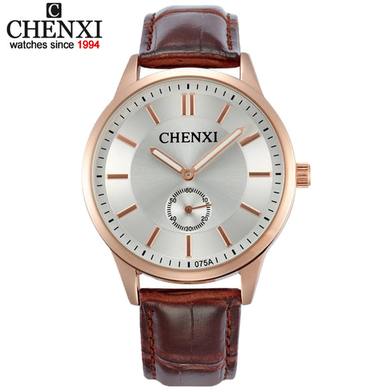 High Quality Couples Quartz Minimalist Watch & Leather Strap
