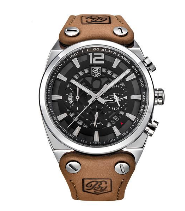 B 771 Chronograph Sport's Men's Military Water Resistant Quartz Watch
