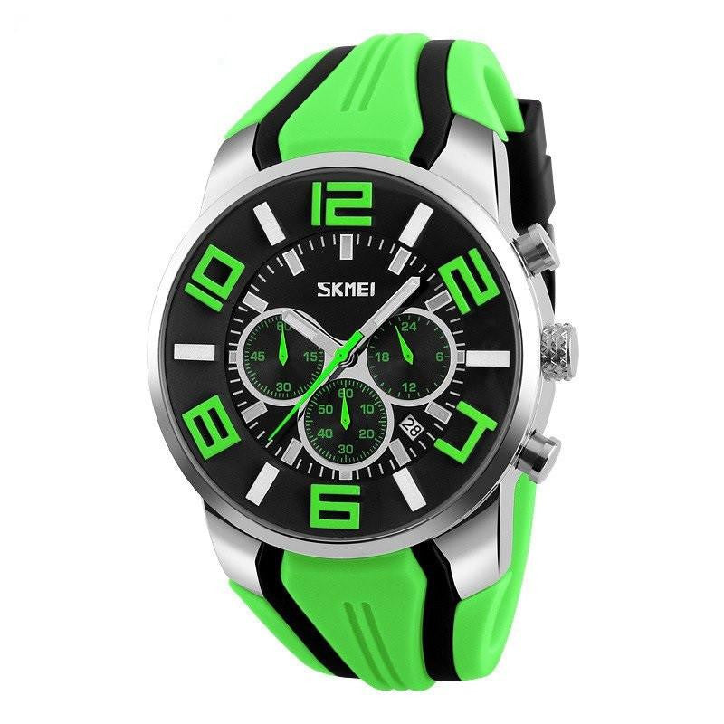 Large Dial Ultra Rugged Three Dial Waterproof Sport Watch