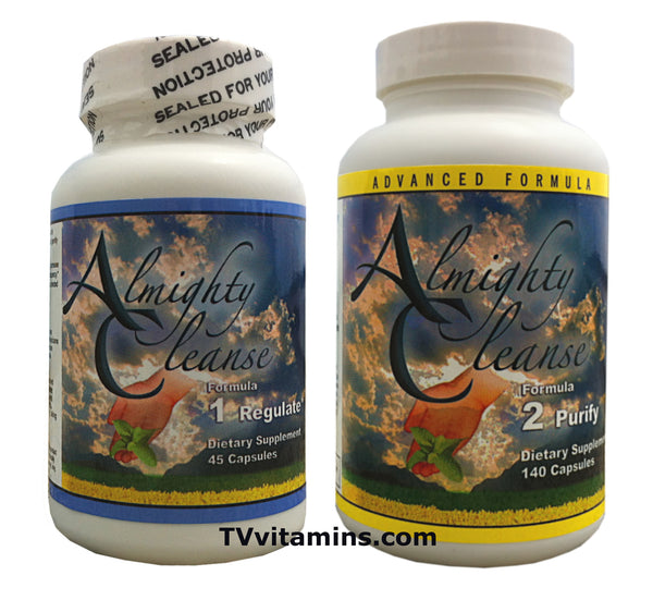 Almighty Cleanse Set Colon Detox Formula 1 Formula 2