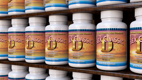 24 Flex D Classic Original Two Year Supply on Shelf