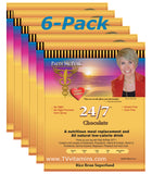 6 Bags Chocolate Rice N Shine 24/7 by Patty McPeak of Nanacea