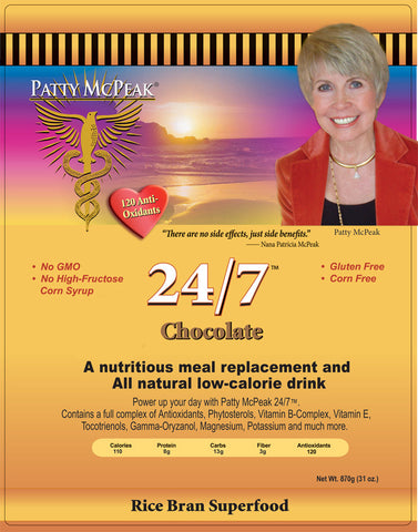Rice N Shine 24/7 Chocolate by Patty McPeak of Nanacea