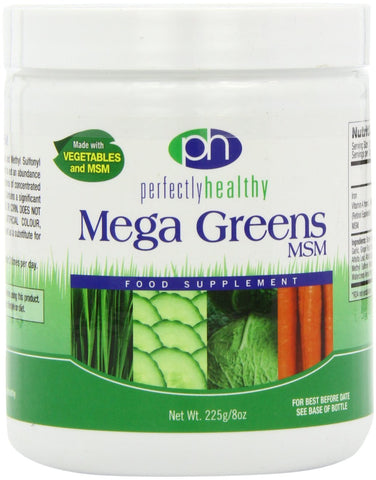 Mega Greens Plus MSM Powder with Supreme Vegetables
