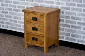 Duddon Oak Bedside - The Sofa Group