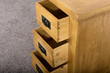 Grasmere Oak Bedside - The Sofa Group