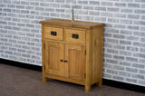 Duddon Oak Mini Sideboard - The Sofa Group