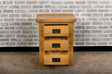 Grasmere Oak Large Wide Bedside - The Sofa Group