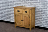 Duddon Oak Small Sideboard - The Sofa Group