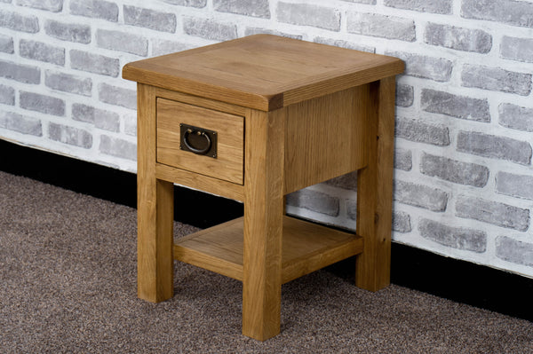 Duddon Oak Lamp Table - The Sofa Group