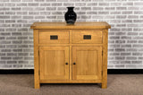Grasmere Oak Mini Sideboard - The Sofa Group