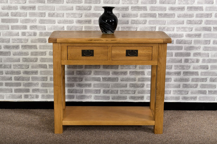 Grasmere Oak Console Table - The Sofa Group