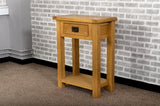 Grasmere Oak Telephone Table - The Sofa Group
