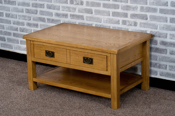 Duddon Oak Coffee Table - The Sofa Group