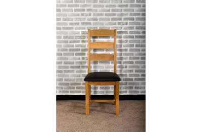 Grasmere Oak Ladder Back Dining Chair - The Sofa Group