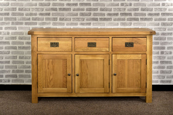 Grasmere Oak Large Sideboard - The Sofa Group